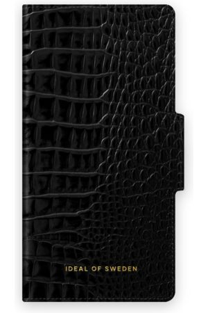 Ideal of sweden Atelier Wallet iPhone 12 Neo Noir Croco