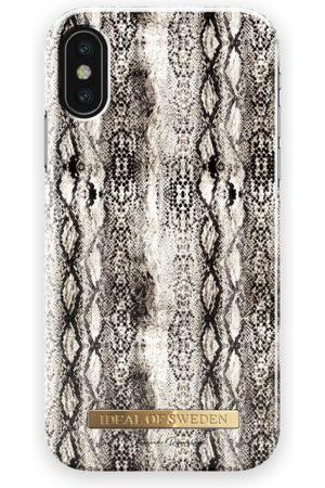 Ideal of sweden Fashion Case Donna Romina iPhone X Khaki Snake