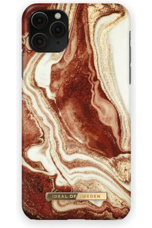 Ideal of sweden Fashion Case iPhone 11 Pro Max Golden rusty marble