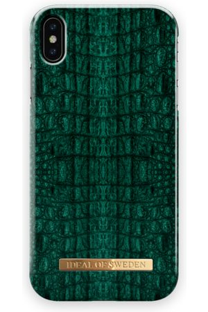 Ideal of sweden Fashion Case iPhone XS Max Emerald Croco