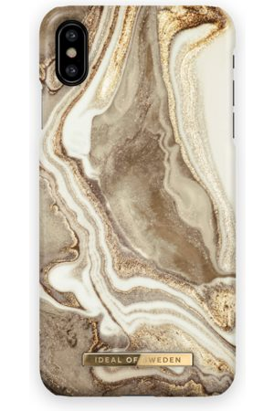 Ideal of sweden Fashion Case iPhone XS MAX Golden sand marble
