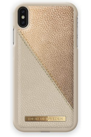 Ideal of sweden Fashion Case LH iPhone XS MAX Golden Pebbled