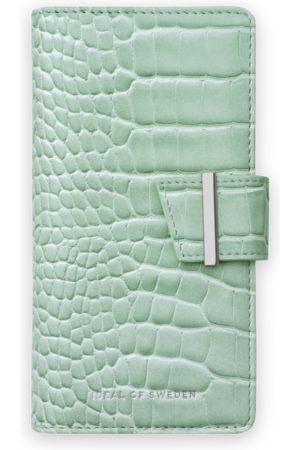 Ideal of sweden Cora Phone Wallet iPhone 12 Mini Mint Croco