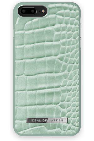 Ideal of sweden Atelier Case iPhone 8 Plus Mint Croco