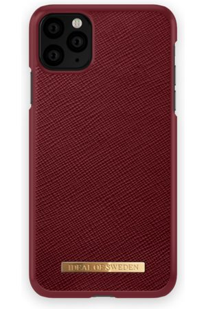Ideal of sweden Saffiano Case iPhone 11 Pro Max Burgundy
