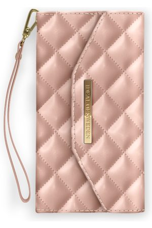 Ideal of sweden Sylvie Meis Mayfair Clutch iPhone XS MAX Quilted Dusty Rose