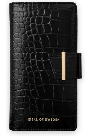 Ideal of sweden Cora Phone Wallet Galaxy S20 Plus Jet Black Croco