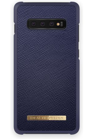 Ideal of sweden Saffiano Case Galaxy S10+ Navy