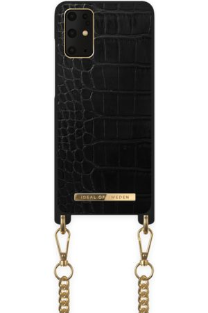 Ideal of sweden Necklace Case Galaxy S20+ Jet Black Croco