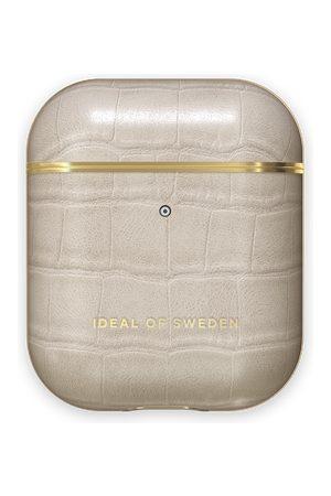 Ideal of sweden Atelier Airpods Case Caramel Croco