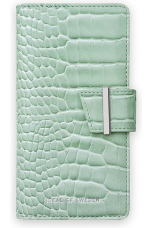 Ideal of sweden Phone Cases - Cora Phone Wallet iPhone 12 Pro Max Mint Croco