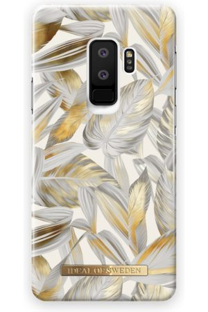 Ideal of sweden Fashion Case Galaxy S9 Plus Platinum Leaves