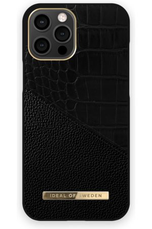 Ideal of sweden Atelier Case iPhone 12 Pro Max Nightfall Croco