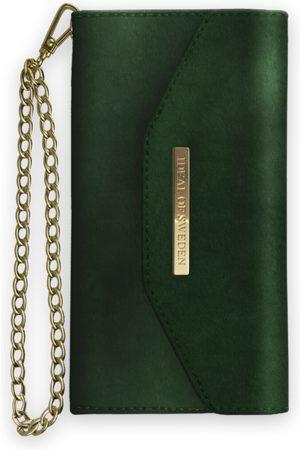 Ideal of sweden Mayfair Clutch Velvet iPhone X Green