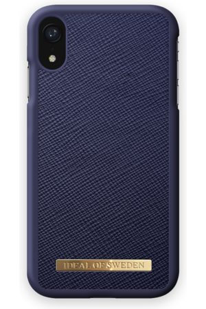 Ideal of sweden Saffiano Case iPhone XR Navy