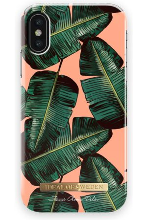 Ideal of sweden Fashion Case Janni iPhone X Coral Leaves