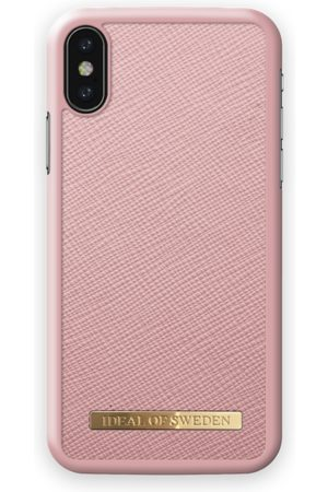 Ideal of sweden Saffiano Case iPhone X Pink