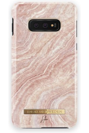 Ideal of sweden Fashion Case Sylvie Meis Galaxy S10E Rosy Reef Marble