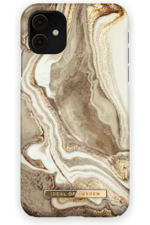 IDEAL OF SWEDEN Women Phone Cases - Fashion Case iPhone 11 Golden sand marble