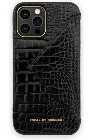 Ideal of sweden Statement Case 12 Pro Max Neo Noir Croco Flap Pocket