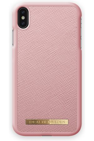 Ideal of sweden Saffiano Case iPhone XS Max Pink