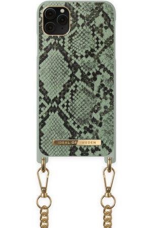 Ideal of sweden Necklace Case iPhone 11 PRO MAX Khaki Python