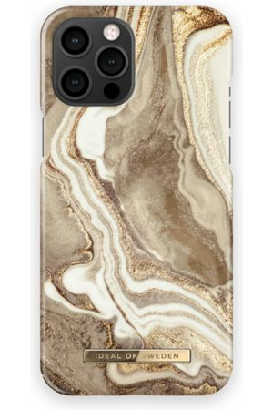 IDEAL OF SWEDEN Phone Cases - Fashion Case iPhone 12 Pro Max Golden Sand Marble