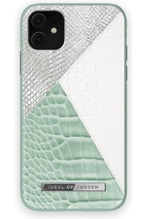 Ideal of sweden Atelier Case iPhone 11 Palladian Mint Snake