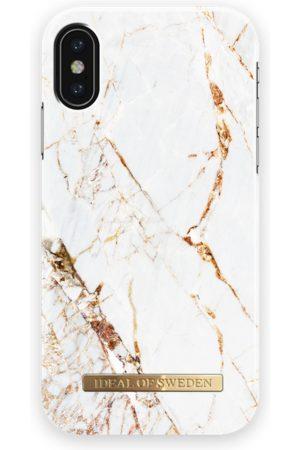 Ideal of sweden Fashion Case iPhone X Carrara Gold