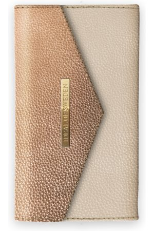 Ideal of sweden Mayfair Clutch LH iPhone XS MAX Golden Pebbled