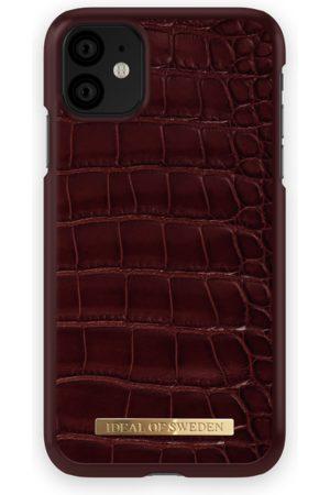 Ideal of sweden Croco Case iPhone 11 Claret Croco