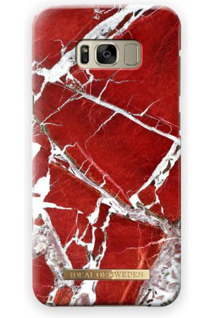 Ideal of sweden Fashion Case Galaxy S8 Plus Scarlet Red Marble