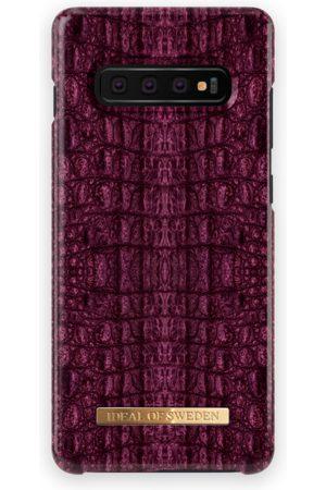 Ideal of sweden Fashion Case Galaxy S10+ Burgundy Croco