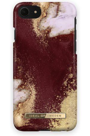 Ideal of sweden Fashion Case iPhone 7 Golden Burgundy Marble