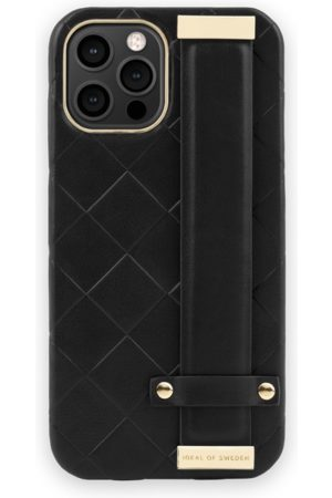 IDEAL OF SWEDEN Phone Cases - Statement Case iPhone 12 Pro Max Braided Smooth Noir