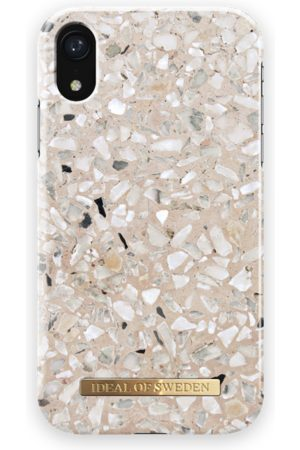 Ideal of sweden Fashion Case iPhone XR Greige Terazzo