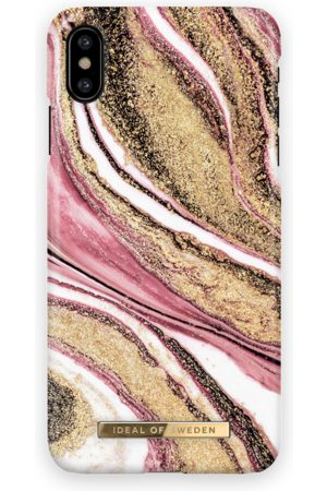 Ideal of sweden Fashion Case iPhone X Cosmic Pink Swirl
