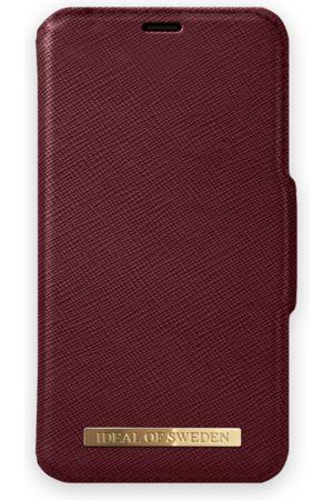 Ideal of sweden Fashion Wallet iPhone XR Burgundy
