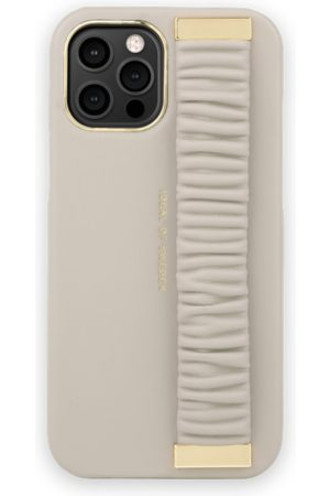 Ideal of sweden Statement Case iPhone 12 Pro Max Ruffle Cream Top-Handle