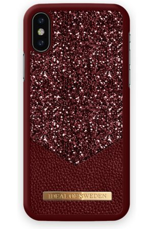 Ideal of sweden Fashion Case Glimmer iPhone X Ruby