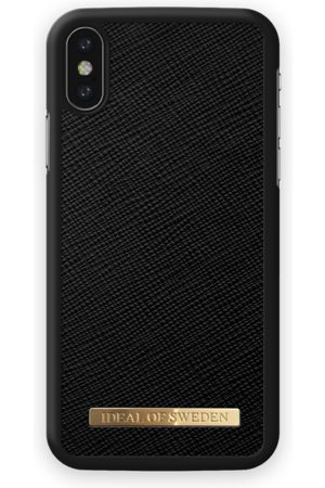 Ideal of sweden Saffiano Case iPhone X Black