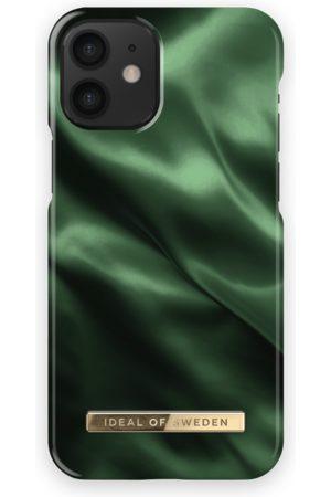 Ideal of sweden Fashion Case iPhone 12 Mini Emerald Satin