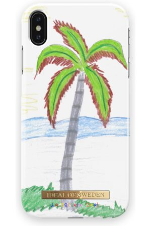 Ideal of sweden La Escuela iDeal iPhone XS Max Crayon Palm Tree