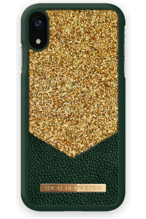Ideal of sweden Fashion Case Glimmer iPhone XR Emerald