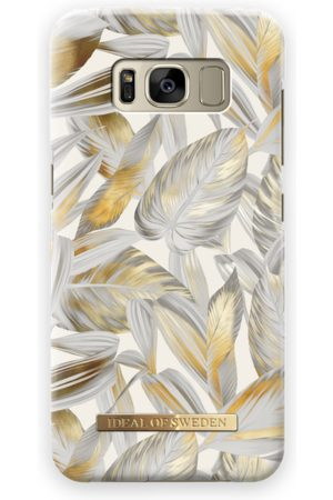 Ideal of sweden Fashion Case Galaxy S8 Platinum Leaves