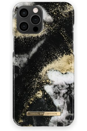 Ideal of sweden Fashion Case iPhone 12 Pro Max Black Galaxy Marble