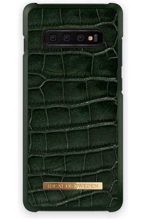 Ideal of sweden Croco Case GALAXY S10+ Evergreen Croco