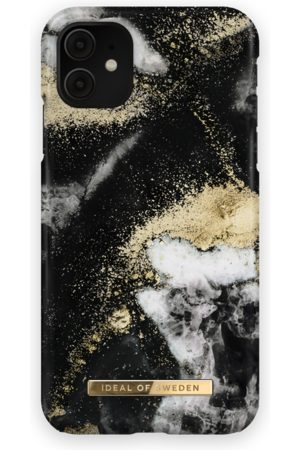 Ideal of sweden Fashion Case iPhone 11 Black Galaxy Marble