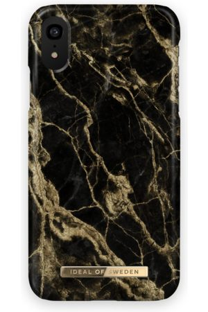 Ideal of sweden Fashion Case iPhone XR Golden Smoke Marble