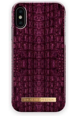 Ideal of sweden Fashion Case iPhone X Burgundy Croco